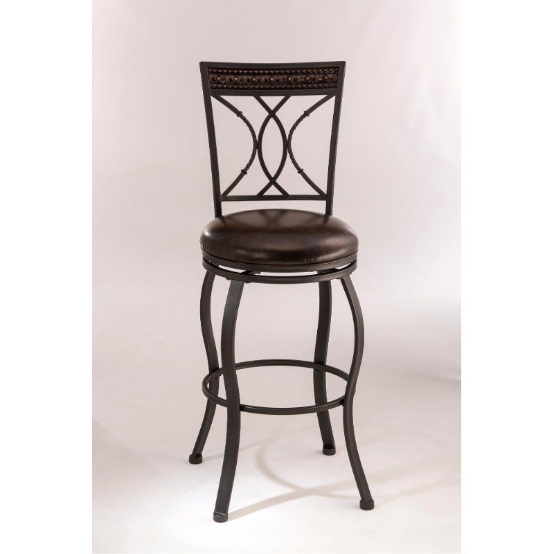 Traditional 24 Inch Counter Height Stool Kirkham Swivel Bar Stools Swivel Counter Stools Hillsdale Furniture