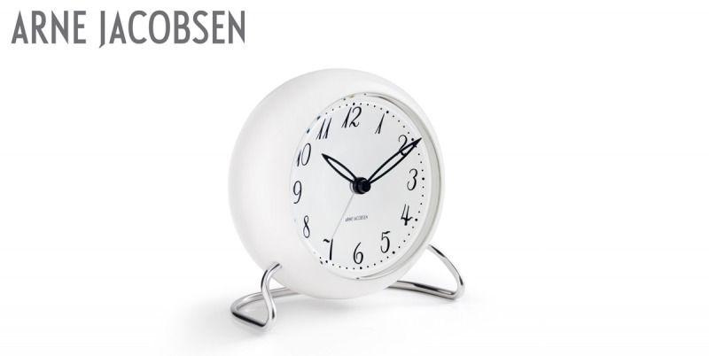 LK-herätyskello, valkoinen