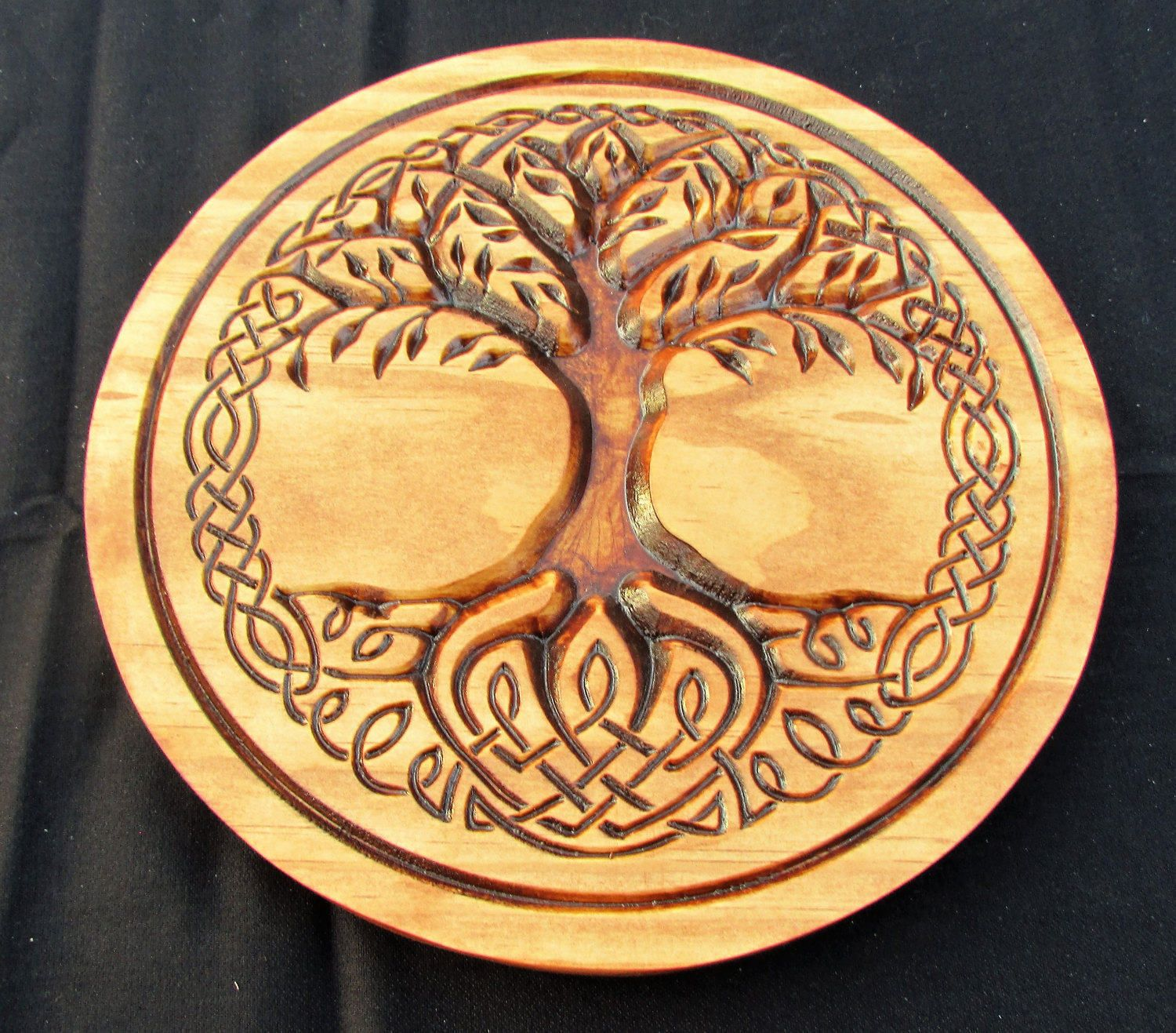 Celtic Tree of Life;Life symbol;Celtic knot symbol;Tree plaque;Irish ...