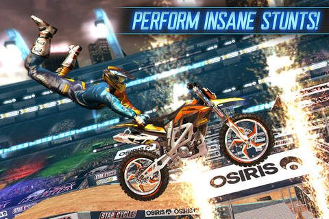 Motocross Meltdown - Rev it up for big air, speed, and style to become the undisputed champion! Challenge opponents online or in single player events including Motocross, Freestyle, Step Up, and more!