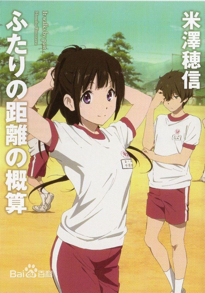 Eru Chitanda and Hōtarō Oreki Personagens de anime, Arte