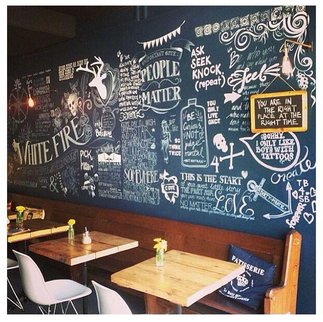 Home Design Ideas Blackboard: Chalkboard Restaurant, Art