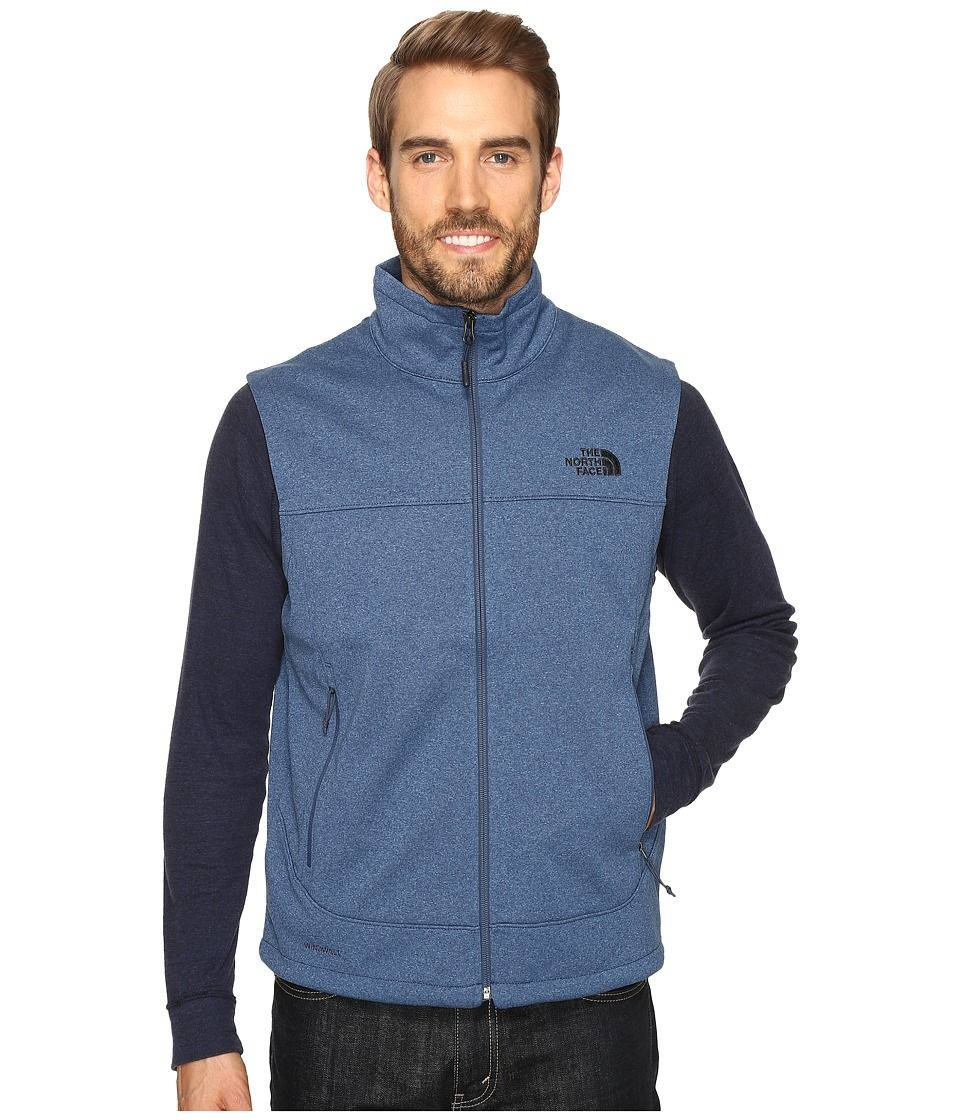 243cbfc3a THE NORTH FACE THE NORTH FACE - CANYONWALL VEST (SHADY BLUE HEATHER ...