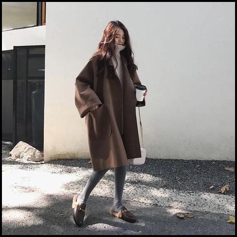 oversized coat korean