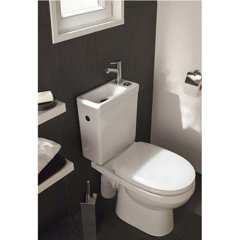 Pack Wc Duetto 2 Cooke Lewis 3 6l Kleine Toilette Renovierung Und Einrichtung Badezimmer