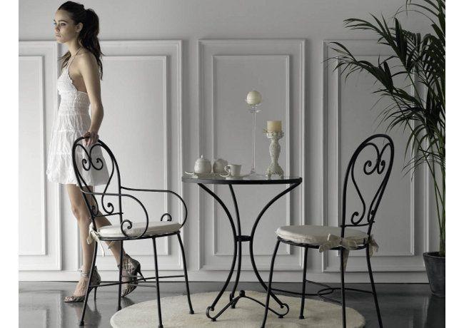 Cafeteria silla de forja modelo cordoba - Forja en cordoba ...