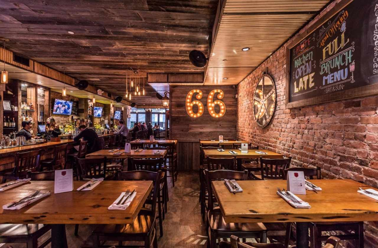 Virtual tour for route smokehouse restaurant in nyc
