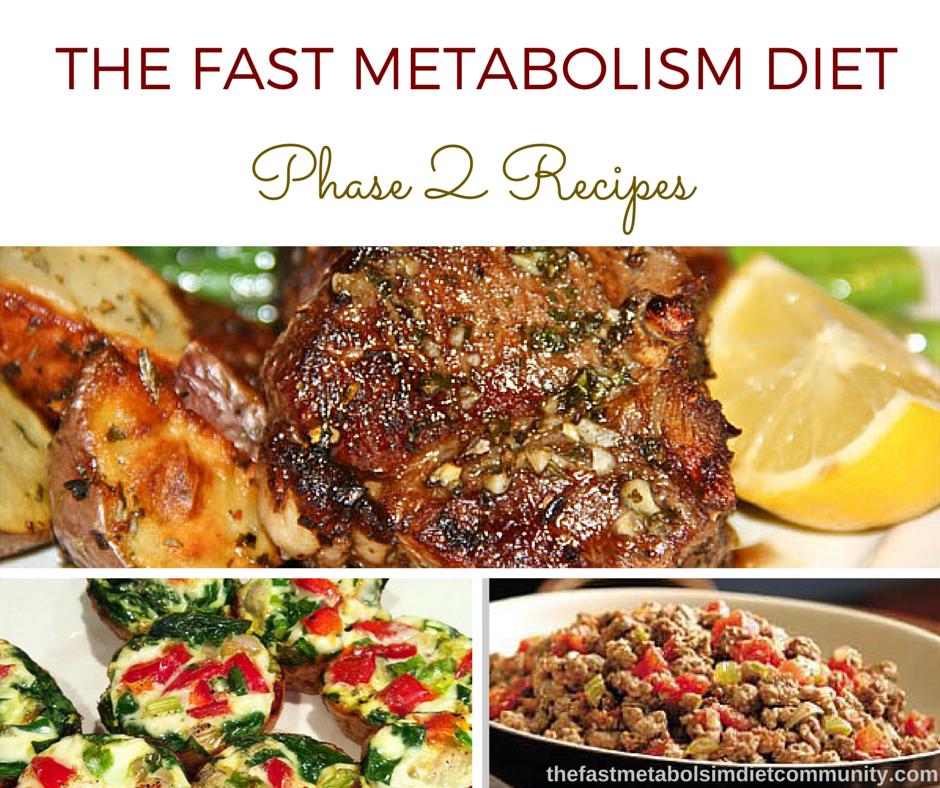 the fast metabolism diet recept