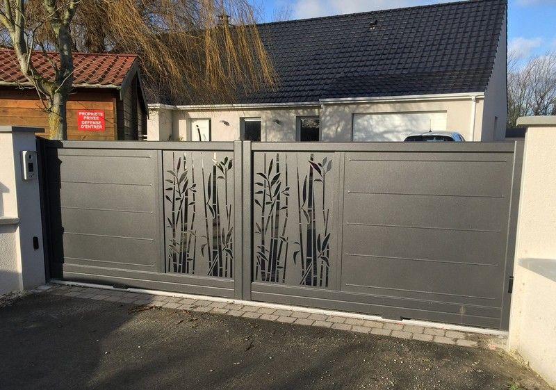 epingle sur portail