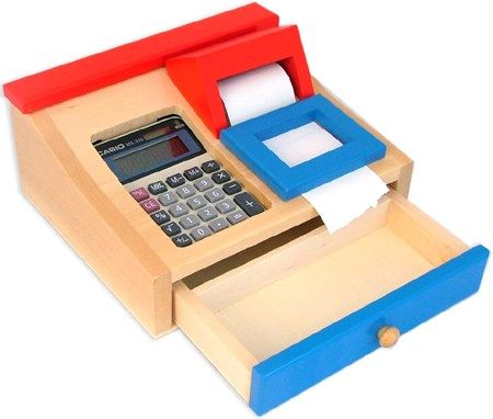 I like the use of a real calculator and the paper tape roll TSR