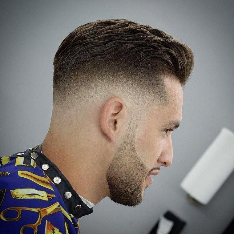 Coupe De Cheveux Homme Cheveux Boucles Coupe Courte Look Herenkapsel Herenkapsels Kapsel Man