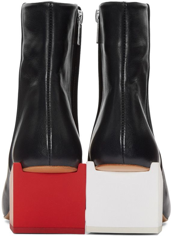 Jacquemus - Navy Arlequin Boots