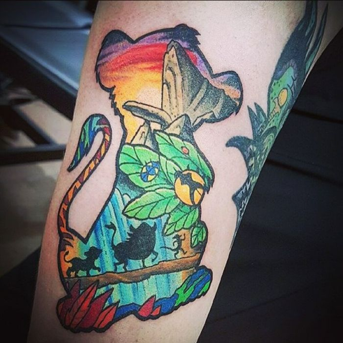 1001 id es en photos de tatouage lion inspirez vous de l 39 art des tatoueurs pinterest - Tatouage hakuna matata ...