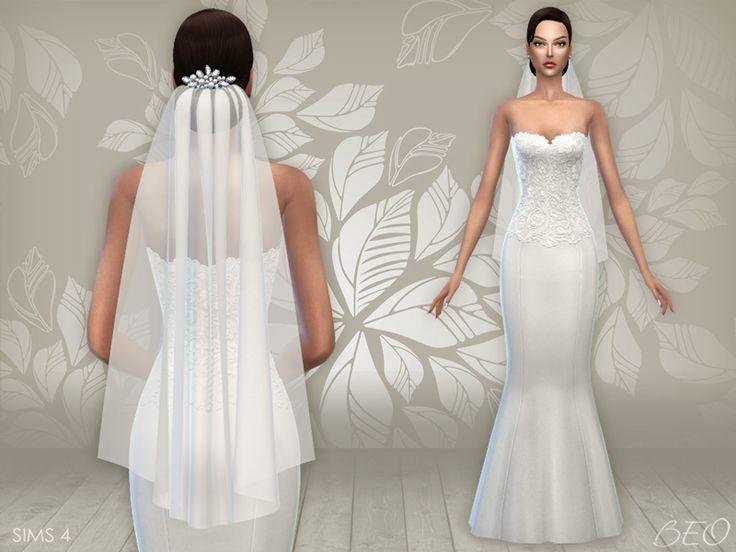 the sims 4 cc wedding dress - Pesquisa Google | Sims 4 CC | Pinterest