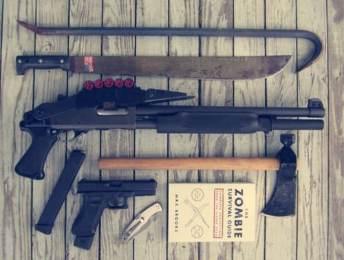 Pin By Paula Dowdy On Guns And Doomsday Preppers Zombie Survival Gear Zombie Apocalypse Survival Zombie Survival