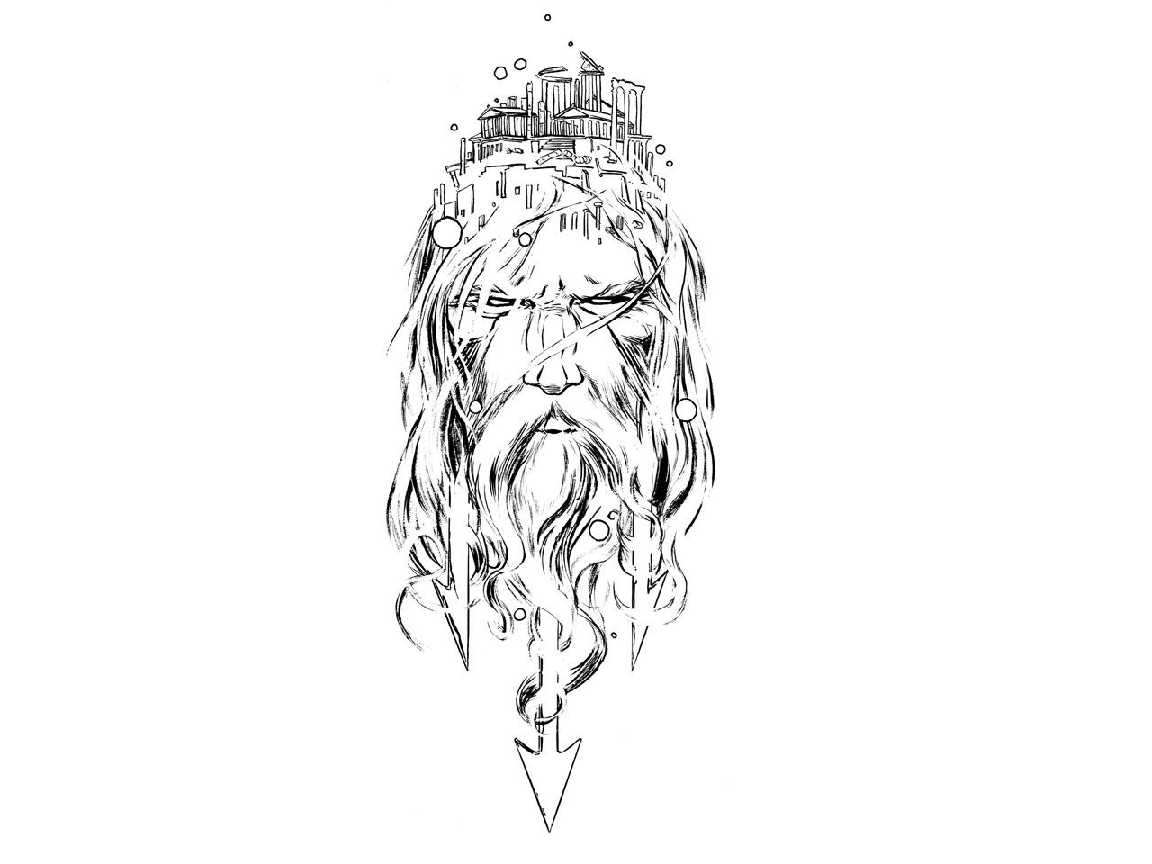 Greek Mythology 14 Gods And Goddesses Printable Coloring