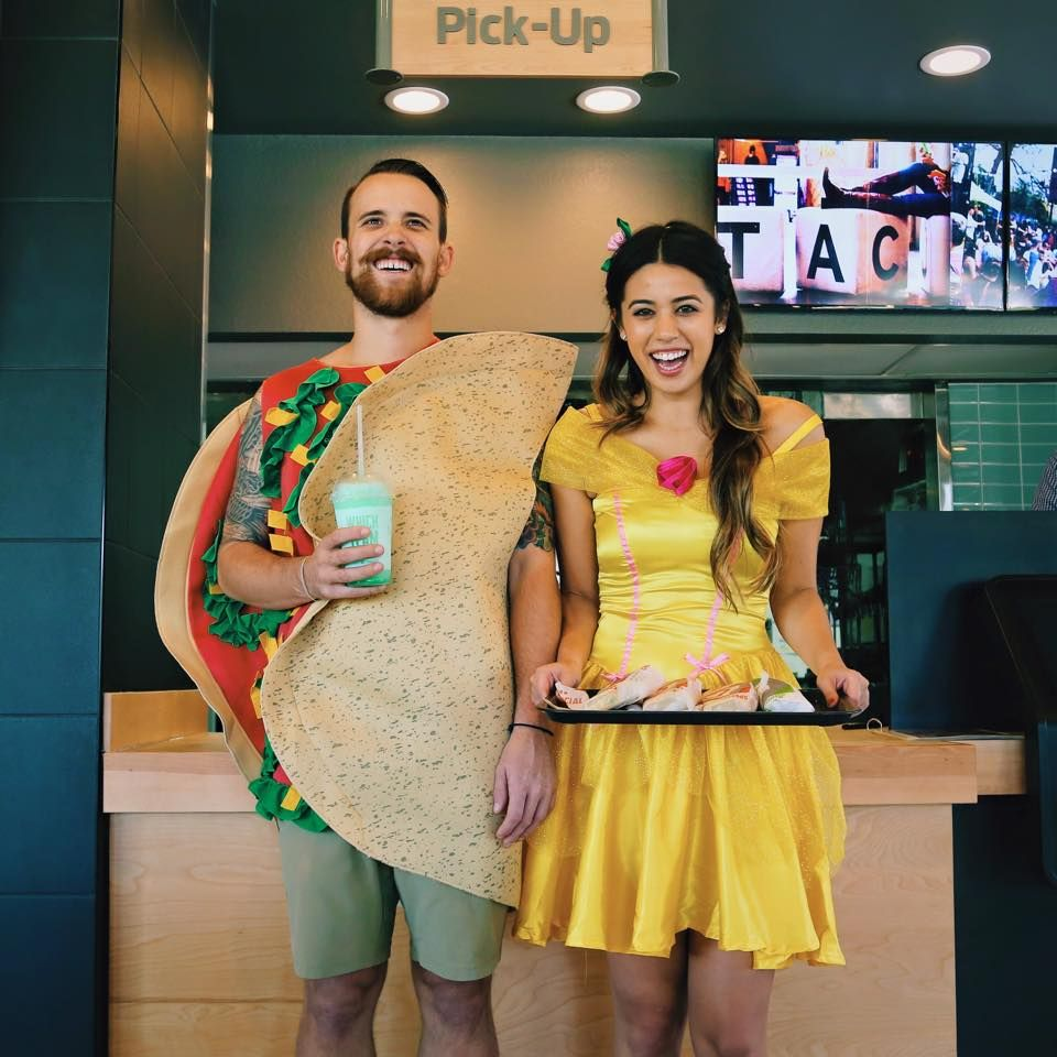 Taco Bell Halloween Couple costume