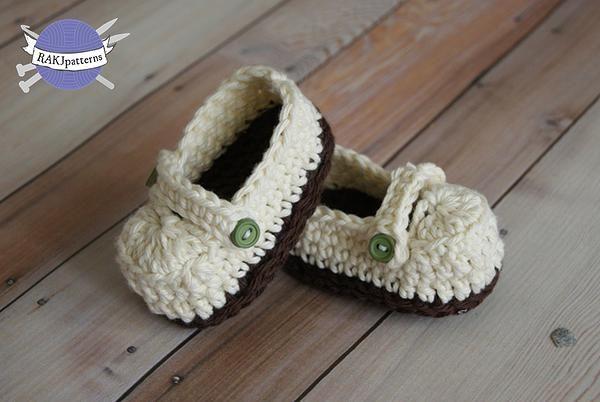 RAKJpatterns; Creative Crochet Patterns | NotFree Crochet Pattern: Ashley Loafers