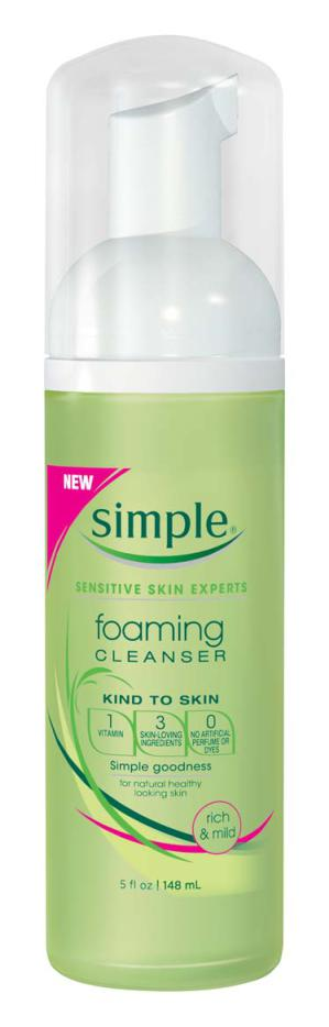 simple foaming cleanser featured on theglossarie.com I have this too and absolutely love! Good drug store buy.