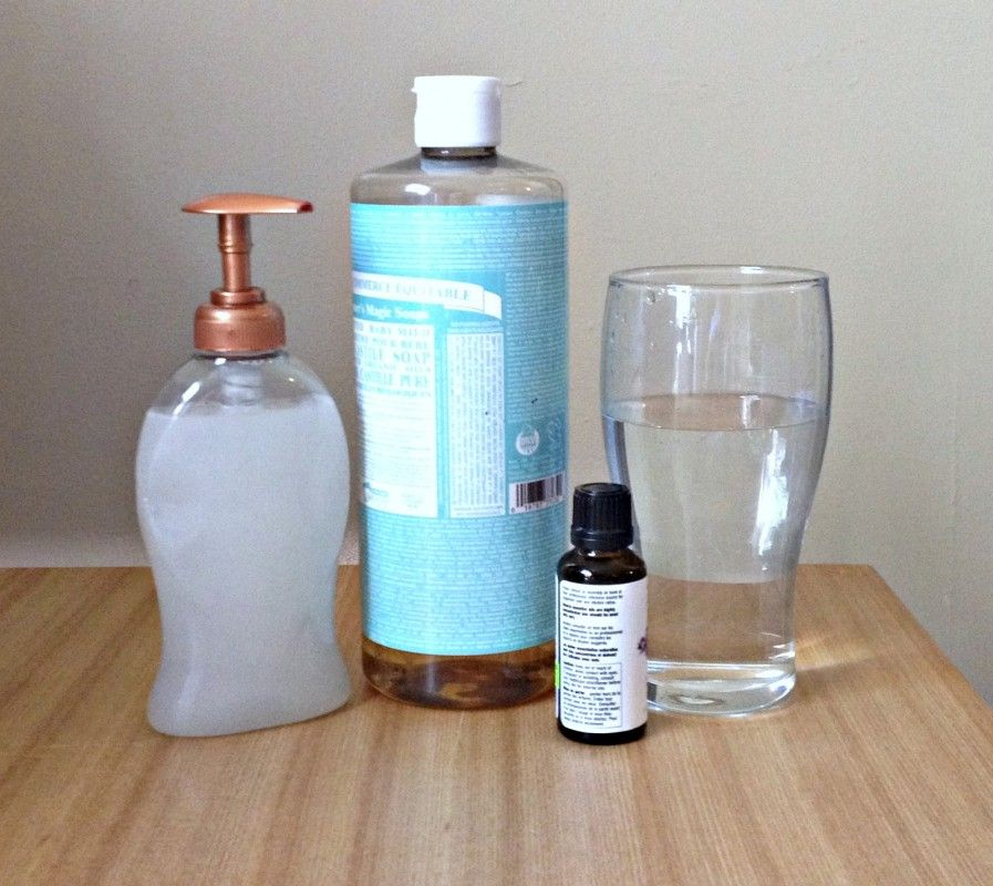 How To Make Your Own Natural Liquid Hand Soap Chemical