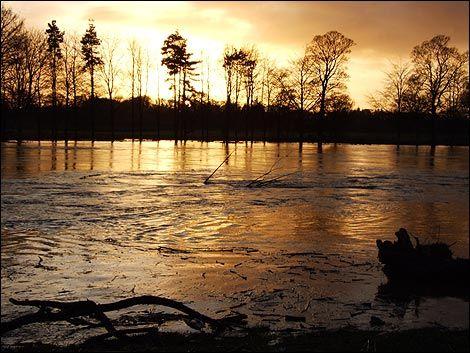 The River Eden in Flood near Little Corby. Harry Joad (2009)