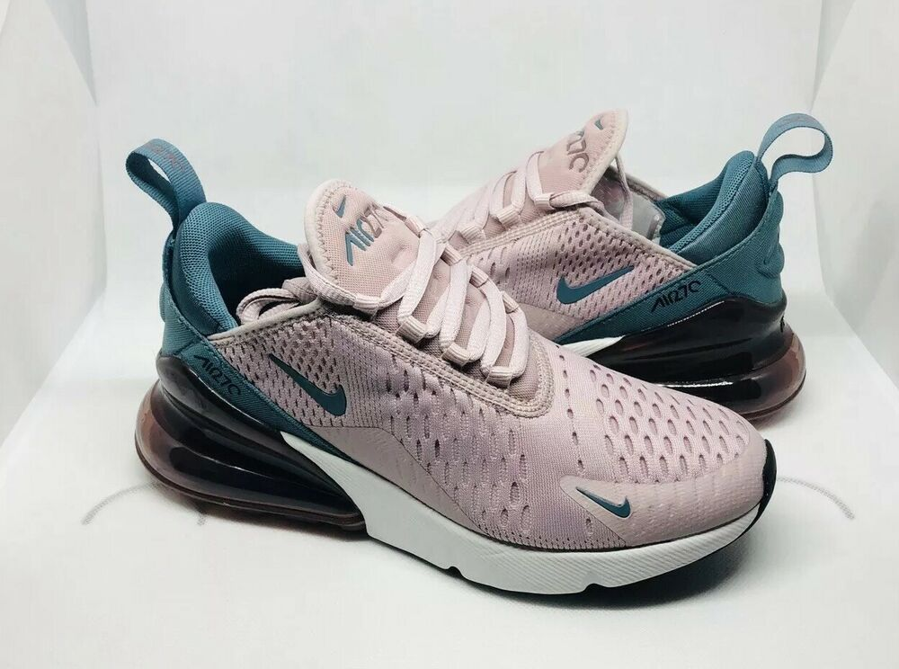 02705e5f46d43 Nike Air Max 270 Particle Rose Celestial Teal - Womens US Size 6 ...