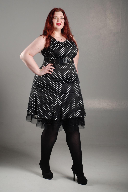 Poka Dot Dress 006 by ClassyDamePinup.deviantart.com on  DeviantArt  TCW   Tall  Women  Redhead  TallAmazon  ClassyDame  BodyLove  Omega  OZ 4d434d5bc4