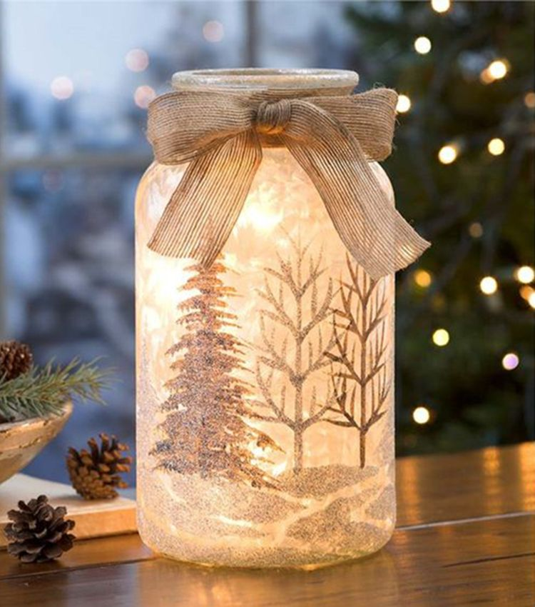 How To Create A DIY Mason Jar Night Light by Yourself images