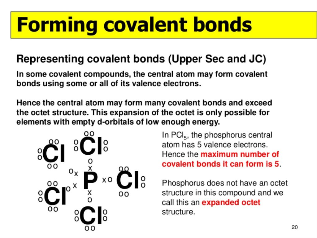 Sometimes there are exceptions to the octet rule here is why chemical bondscreated by justin loh sj 2013 hwa chong institution chemistry 1 pooptronica Images