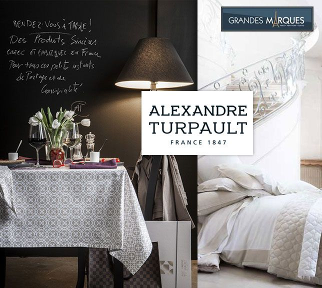 Depuis 1847, Alexandre Turpault, tisseur de lin et confectionneur de