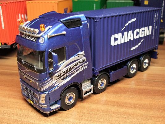 tekno wsi volvo fh16 750 eigenbau rc trucks. Black Bedroom Furniture Sets. Home Design Ideas