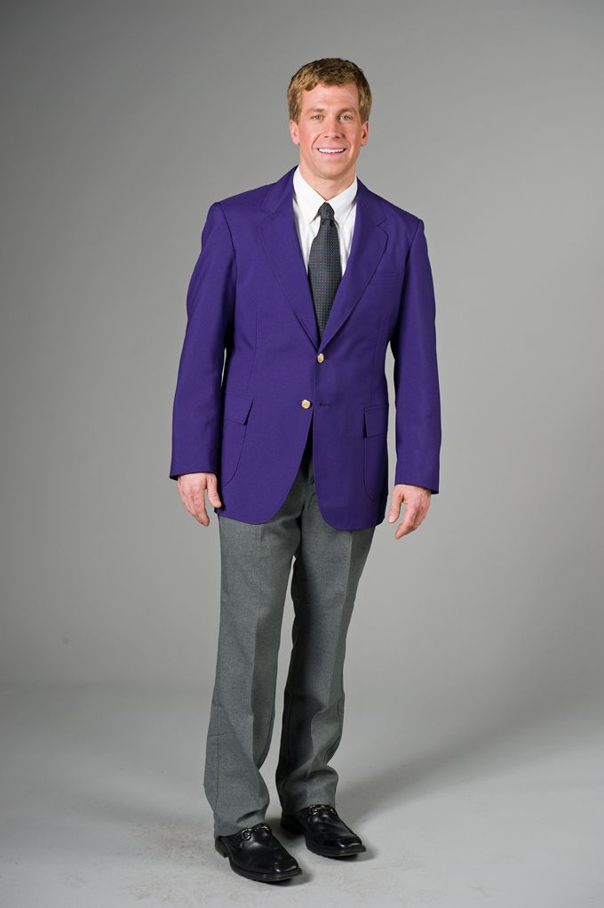 Mens Purple Blazer Photo Album - Reikian