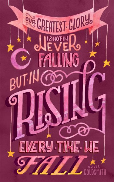 """""""Rise Every Time"""" by becca cahan"""