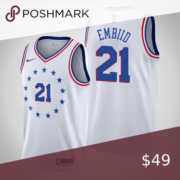 Philadelphia 76ers Joel Embiid Jersey Philadelphia 76ers Joel Embiid Jersey Philadelphia 76ers Jersey Nba Shirts