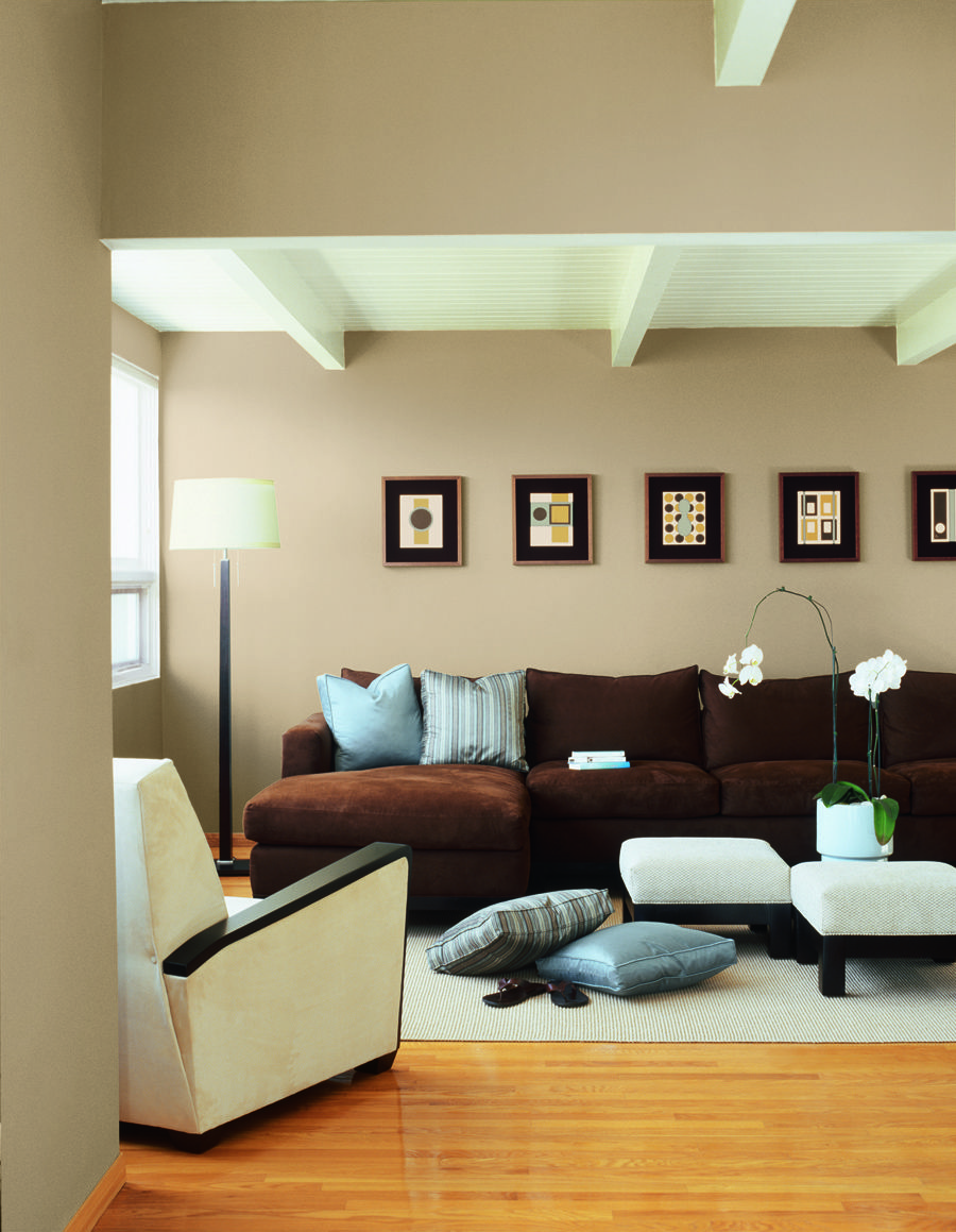 Dunn edwards paints paint colors wall inside passage - Designer wall paints for living room ...
