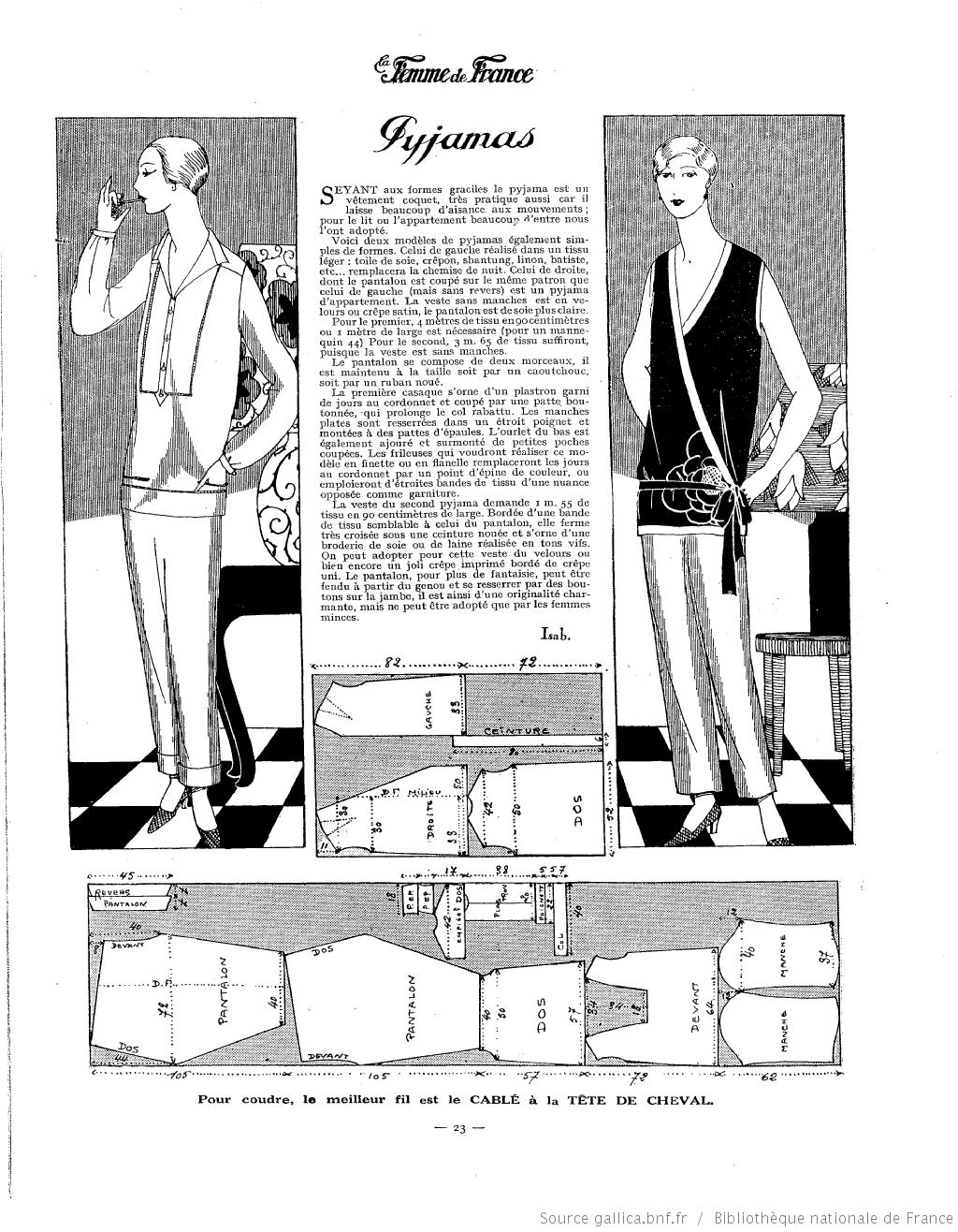 La Femme de France | 1920\'s | Pinterest | Moda mujer y Patrones