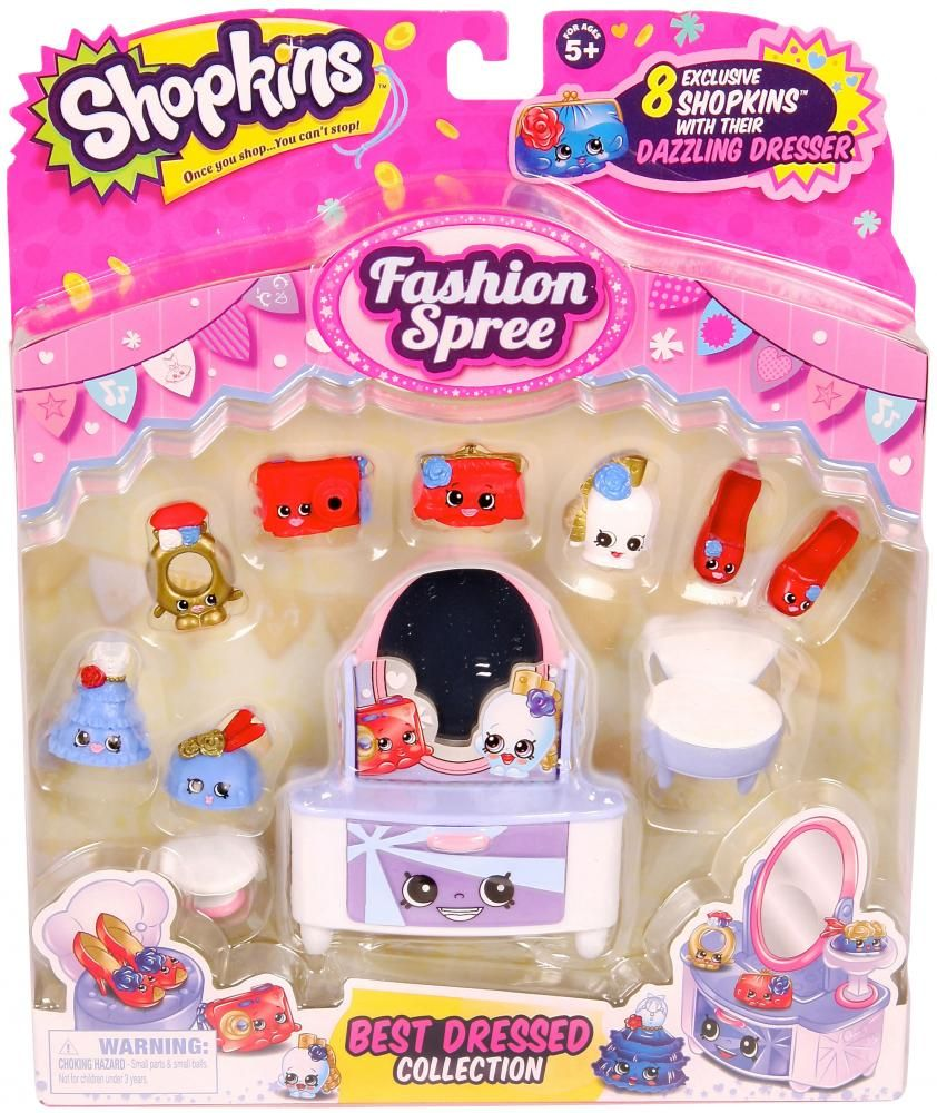 Shopkins Fashion Spree Collection | Moose Toys