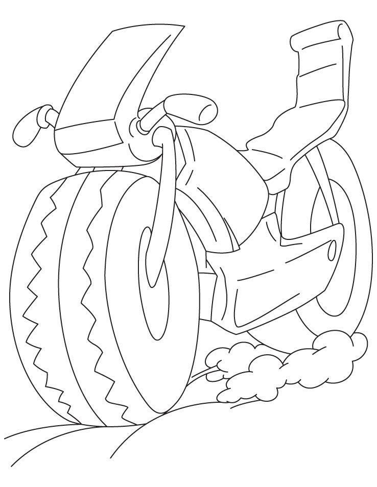 Sports Bike Coloring Page Download Free Sports Bike Coloring