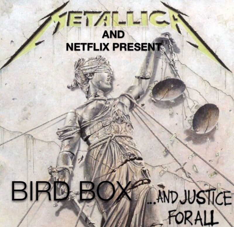 This sequel gonna be good Metallica album covers