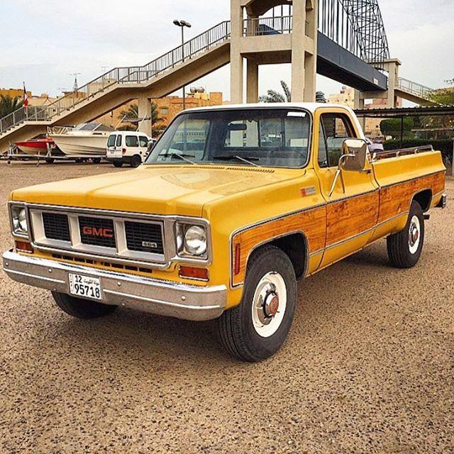Saudiretrocars Vintage Pickup Trucks Gmc Trucks Chevy Trucks