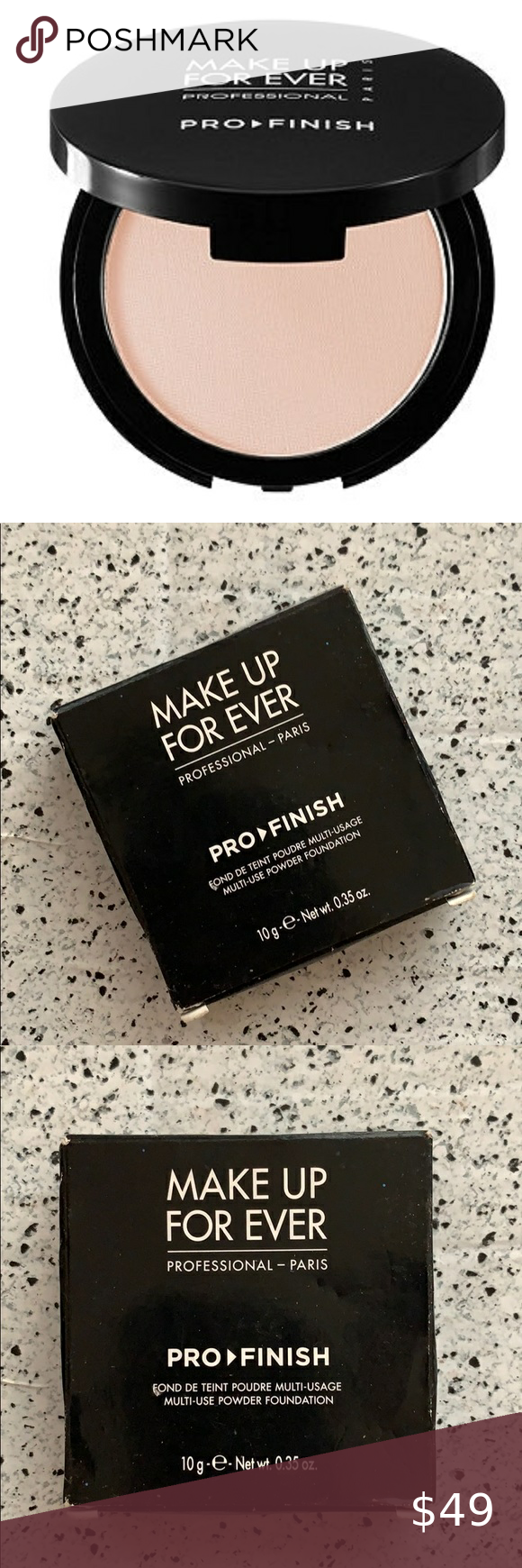 NWT Make Up For Ever 115 Pink Ivory Pro Finish NWT/NIB