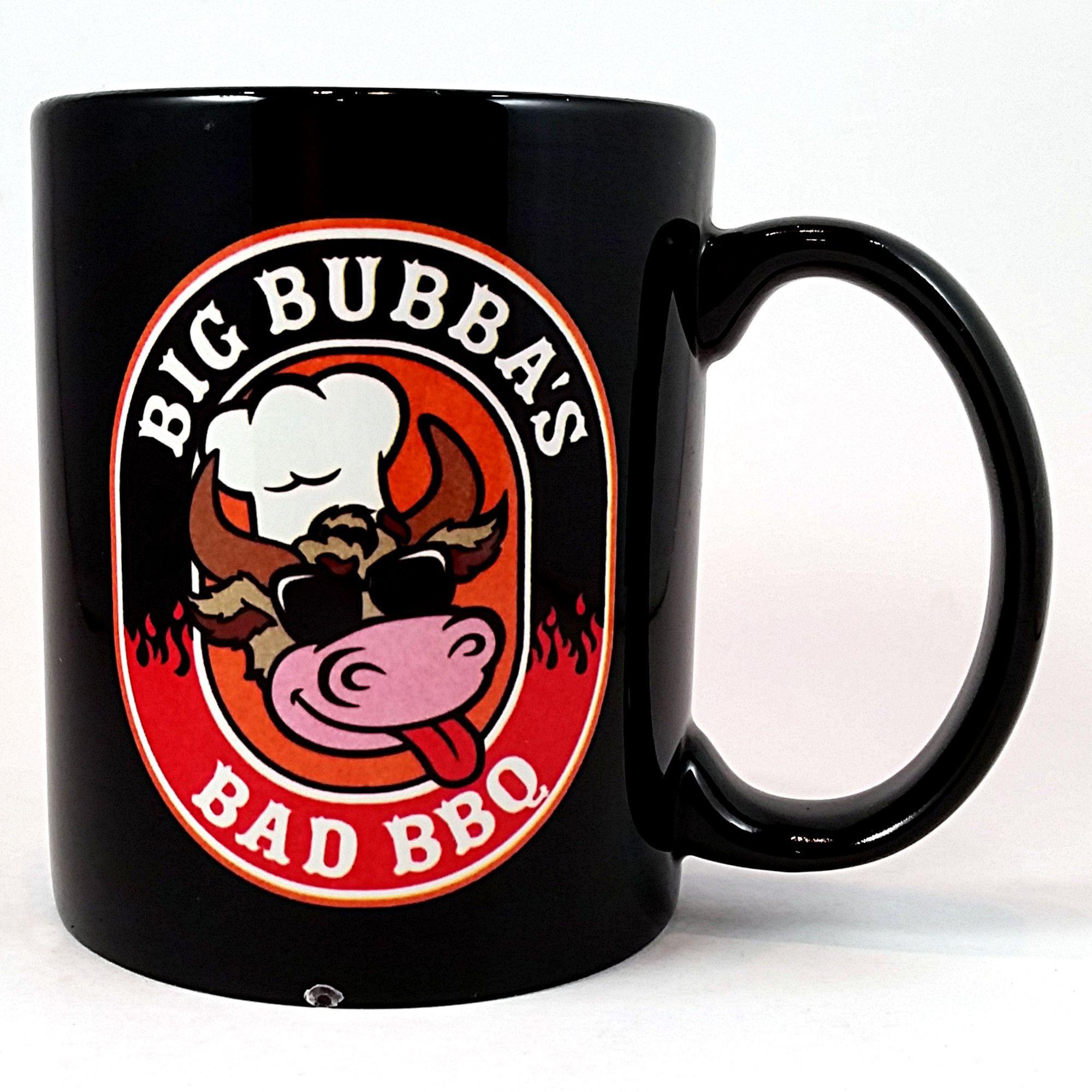 Big Bubba's Bad BBQ Coffee Mug Black Paso Robles