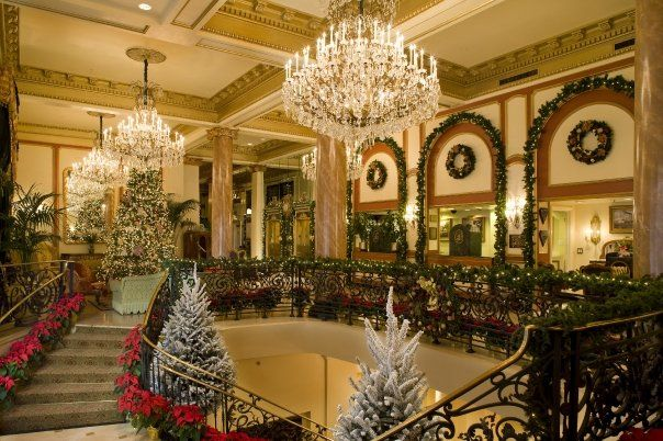 Le Pavillion Hotel Christmas By New Orleans La