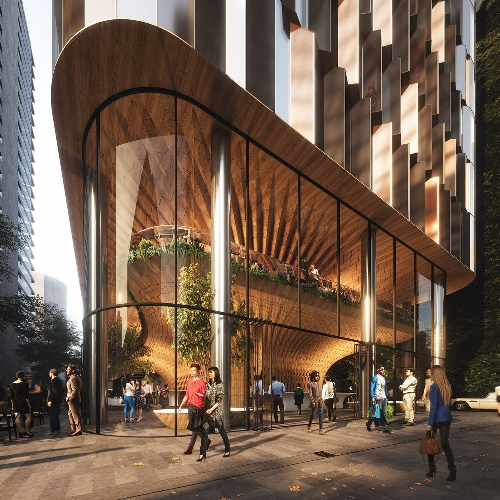 Commercial Lighting Auckland: Gallery Of Woods Bagot And Peddle Thorp Win Auckland