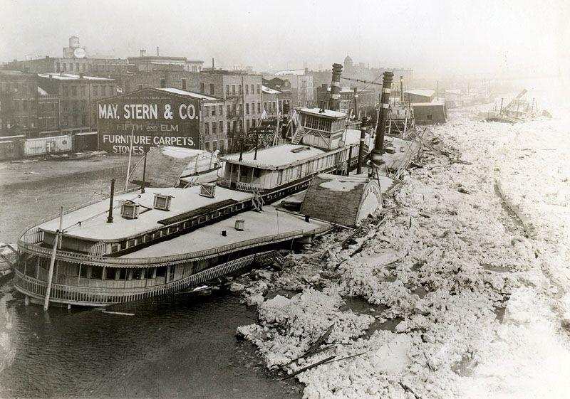 On The Water Inland Waterways 1820 1940 Reading The River Cincinnati Downtown Cincinnati Waterway