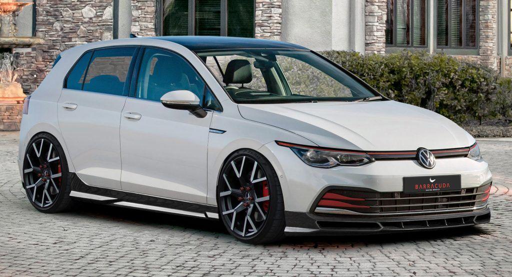 New 2020 Vw Golf Mk8 Tuning Program Previewed By Jms In 2020 Hatchback Cars Vw Golf Volkswagen Golf R