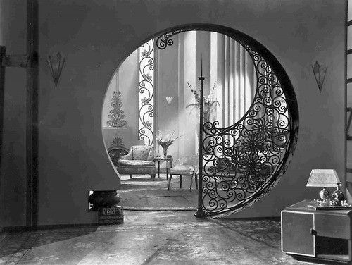 Interior From Foxs Pleasure Crazed 1929 Art Deco
