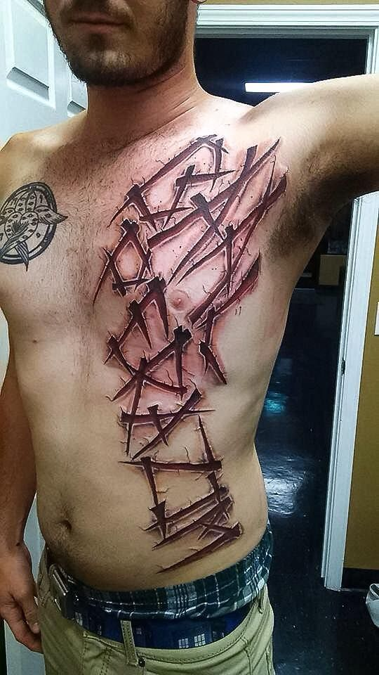 Tattoo Done By Resident Artist Hugh Fowler We Are A Located In Panama City Fl Near Beach Have Some Of The Best Or