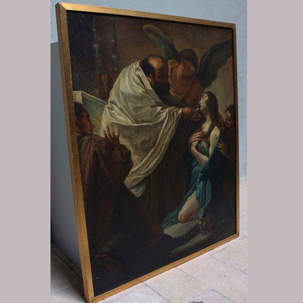 L'ultima comunione della Maddalena, il capolavoro di Benedetto Luti (Firenze 1666 – Roma 1724) - Antiquares