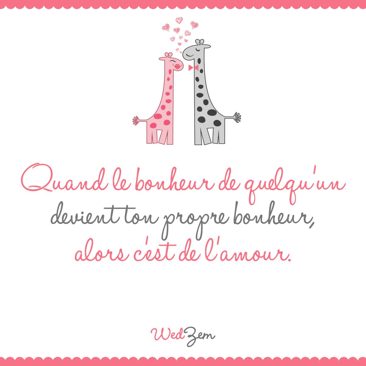 Mon bonheur c'est toi. #citation #amour   L'amour pour le francais